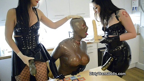 Rubber dolls eat dick for dinner part 1